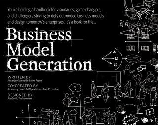 Business Model Canvas cover
