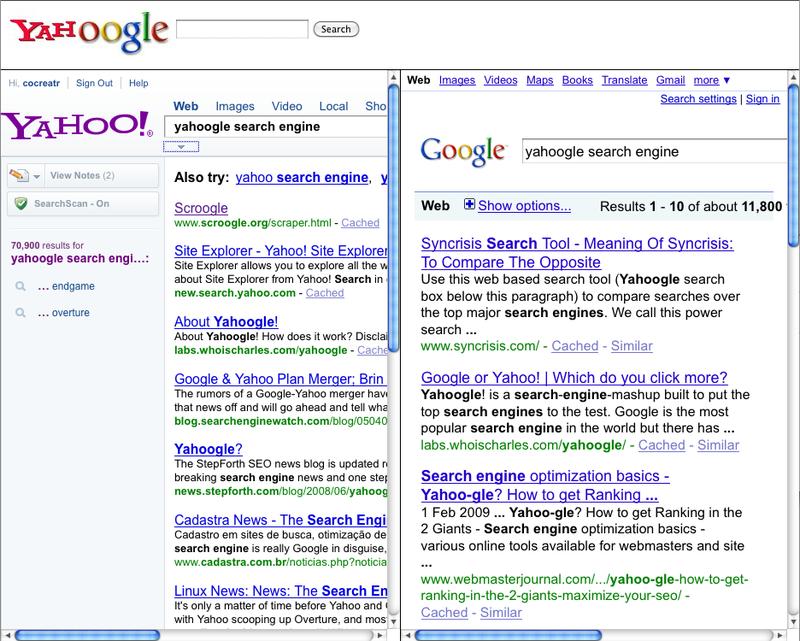 Yahooglesearch.com retrieved 2010-01-19