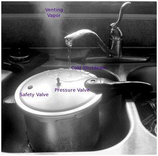 Pressure cooker by kellyhogaboom bw 4684038631_662fcd719d_b