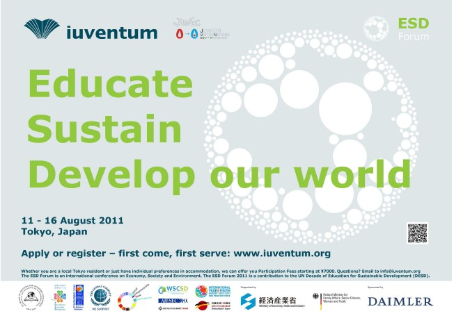 Welcome to the ESD Forum 2011 Tokyo
