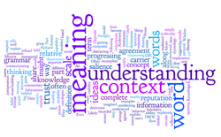 From words to understanding - wordle