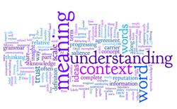 From words to understanding - wordle