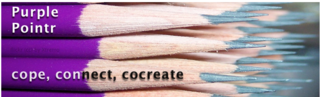 Purple Pointr blog title graphic pencils cope, connect, cocreate.002