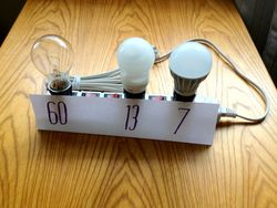 Bulbs on power strip IMG_2310